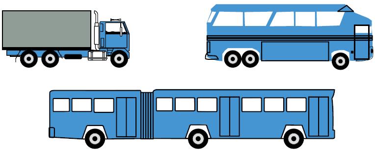 Heavy Rigid vehicle